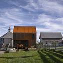 """The Village Architect"", Shobac Campus, Upper Kingsburg, Nova Scotia, Canada / MacKay-Lyons Sweetapple Architects. Image © James Brittain"