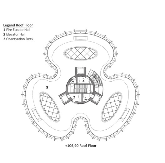 Roof Floor Plan
