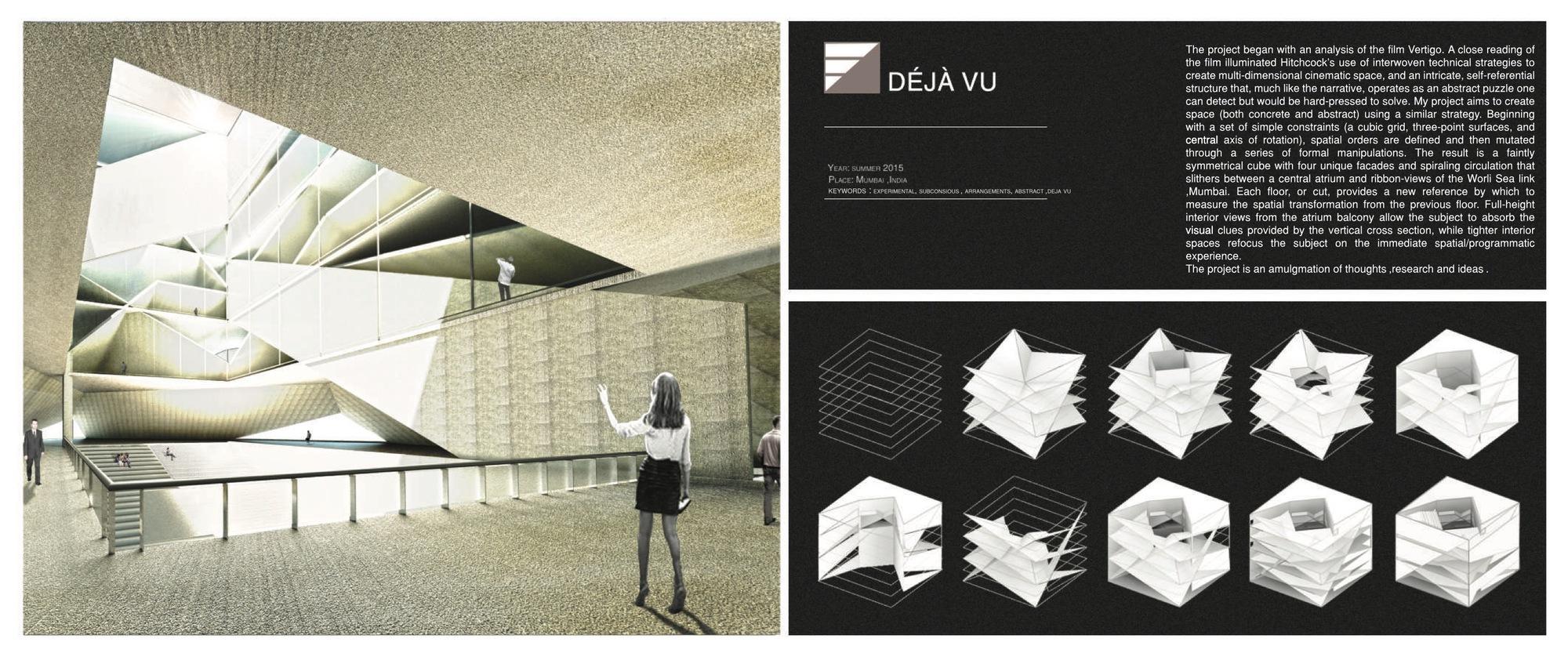 Gallery Of The Best Architecture Portfolio Designs 3