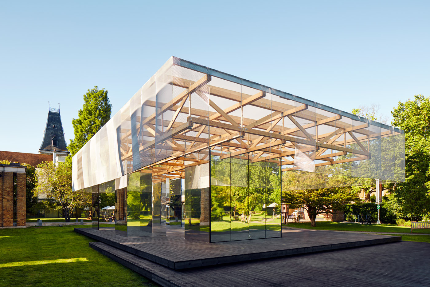 Dulwich Pavilion Archdaily