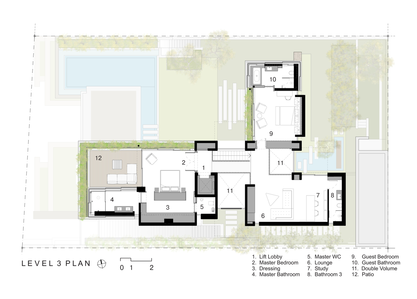 Gallery Of Clifton House Malan Vorster Architecture Interior
