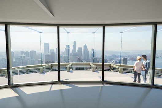 View from the Interior Observation Deck (after). Image © Olson Kundig