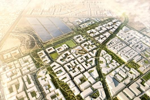 Masdar City Phase 2. Image Courtesy of CBT