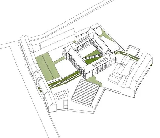 Isometric Site Plan