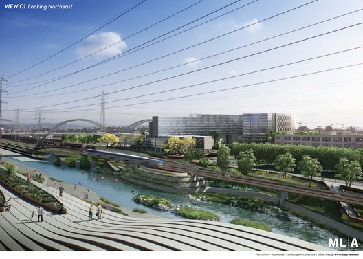 From the Los Angeles River Downtown Design Dialogue (City of Los Angeles, Bureau of Engineering). Used by Permission from Mia Lehrer + Associates