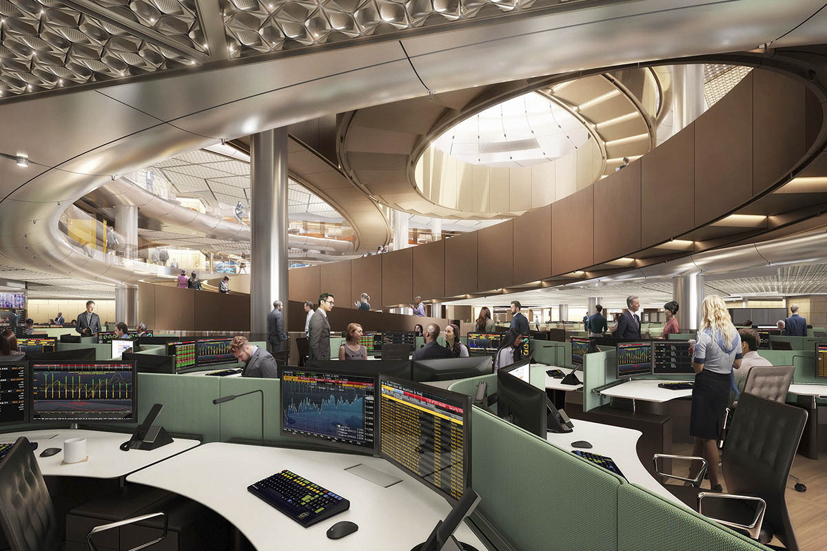 Foster  Partners New London HQ for Bloomberg Uses