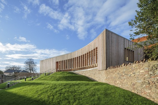 New Music Facilities for Wells Cathedral School / Eric Parry Architects © Dirk Lindner