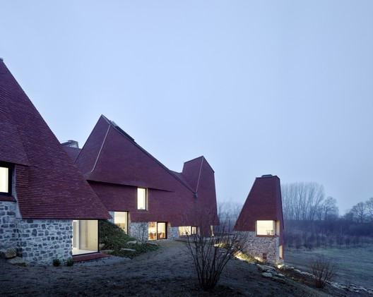 Caring Wood / Macdonald Wright Architects Rural Office for Architecture © James Morris