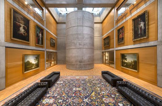 Yale British Center for Art: Library Court after building conservation. Image © Richard Caspole, Yale Center for British Art