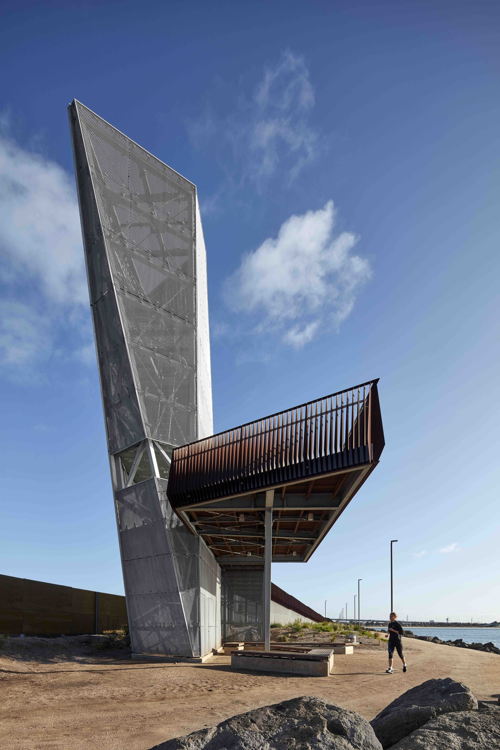 Sandridge Lookout Architecture Archdaily
