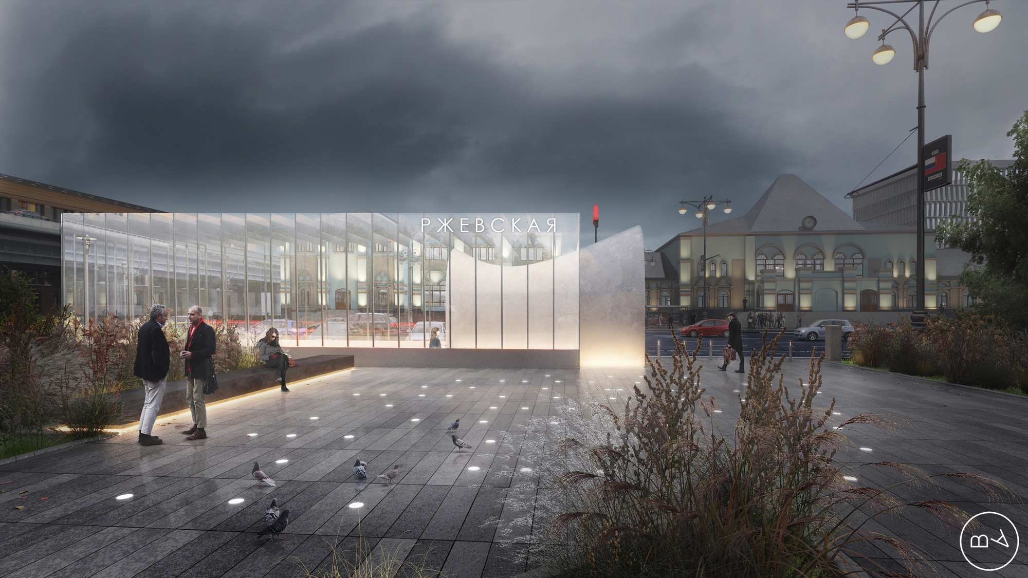 Blank Architects Win Competition to Design Moscow Metro Station  ArchDaily