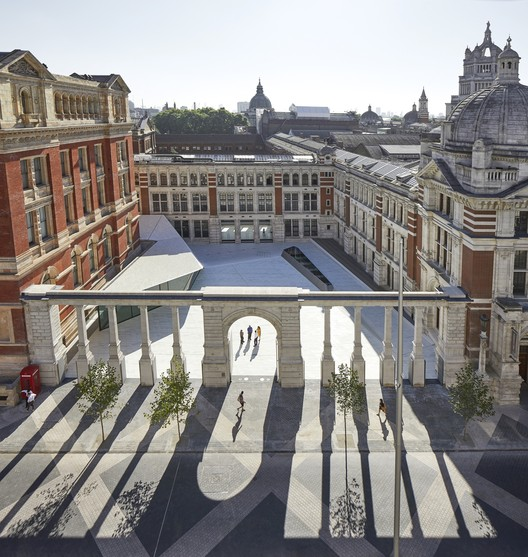 V&A Exhibition Road Quarter. Image © Hufton + Crow
