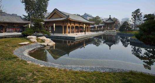 restored ancient buildings in song garden. Image © Chen Su