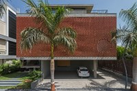 Brick Curtain House / Design Work Group | ArchDaily