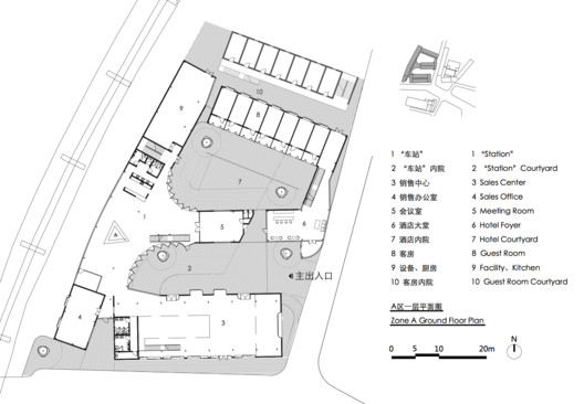 Zone A Ground Floor Plan