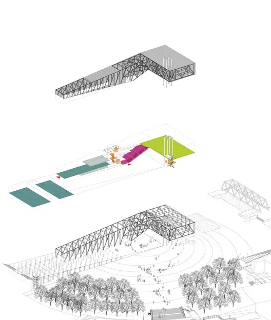 Axonometric © OMA