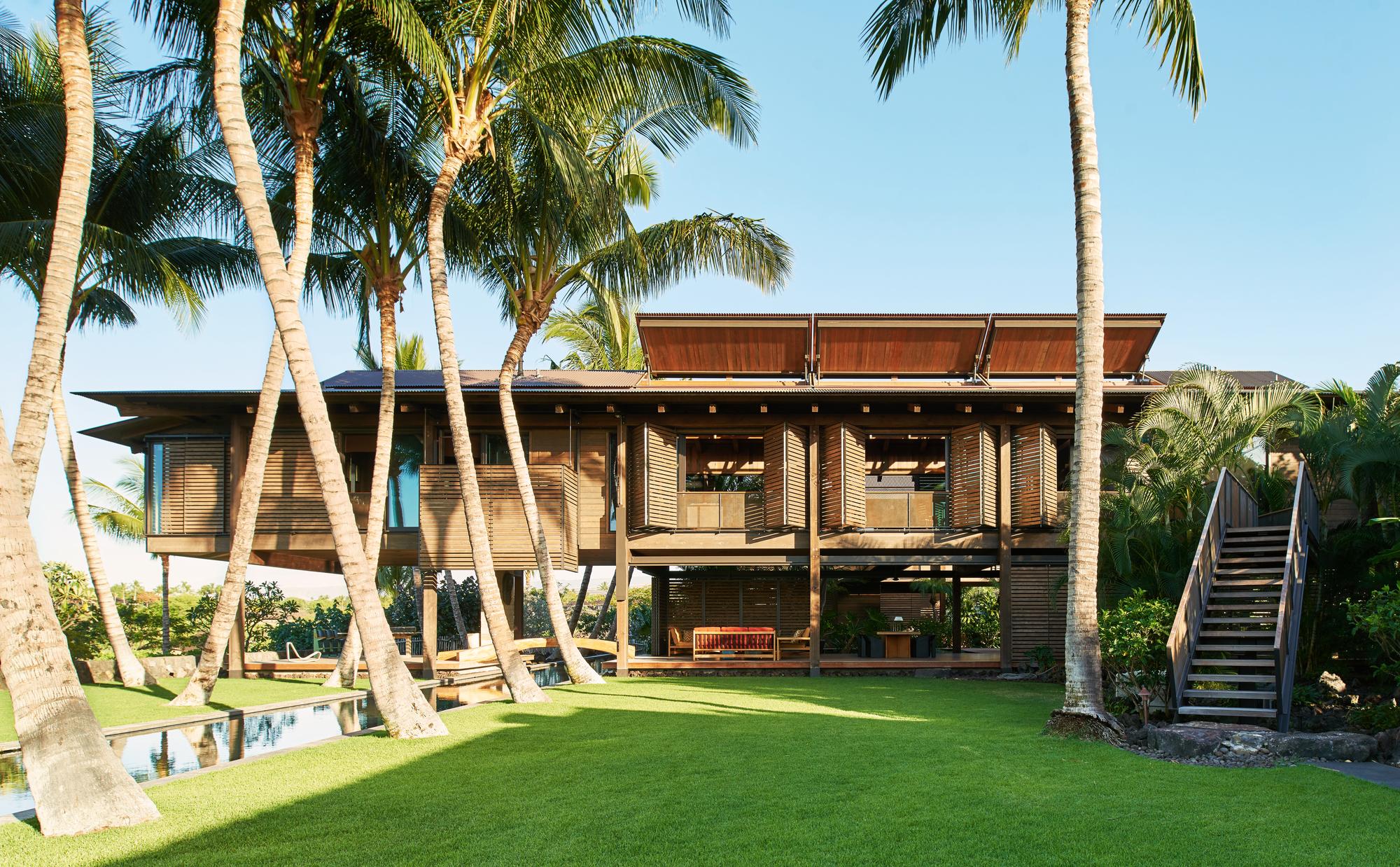 Polynesian Hawaiian Architecture