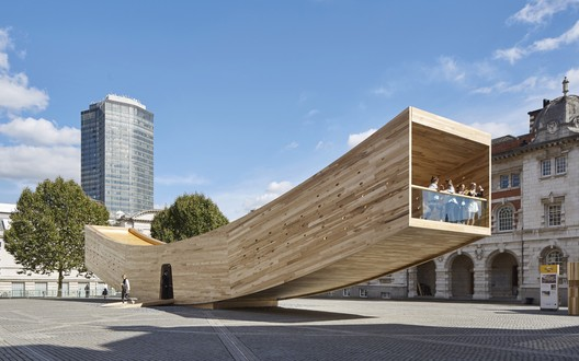 Small project prize: Alison Brooks Architects / The Smile. Image Courtesy of WAF
