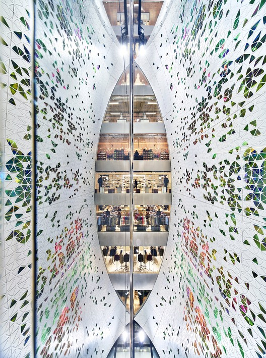 New and Old:  UUfie / Printemps Haussmann. Image Courtesy of WAF