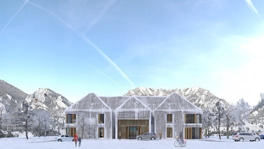 Civic: Tabanlioglu Architects / Husame Koklu Women's Community and Production Center. Image Courtesy of WAF