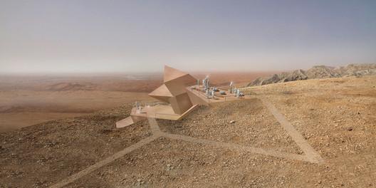 Experimental: 3deluxe Transdisciplinary Design / Sharjah Observatory, Mleiha National Park. Image Courtesy of WAF