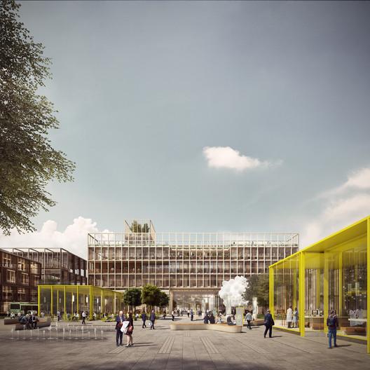 Health: Haptic Architects & Nordic - Office of Architecture / London Cancer Hub. Image Courtesy of WAF
