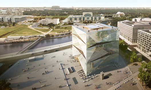 Office: 3XN Architects / Cube Berlin. Image Courtesy of WAF