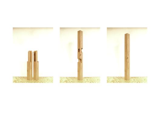Laminated Wood Joint Prototype