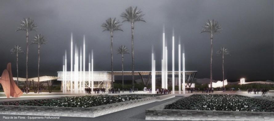 Plaza central de las flores. Image Cortesía de ECOPOLIS Estudio