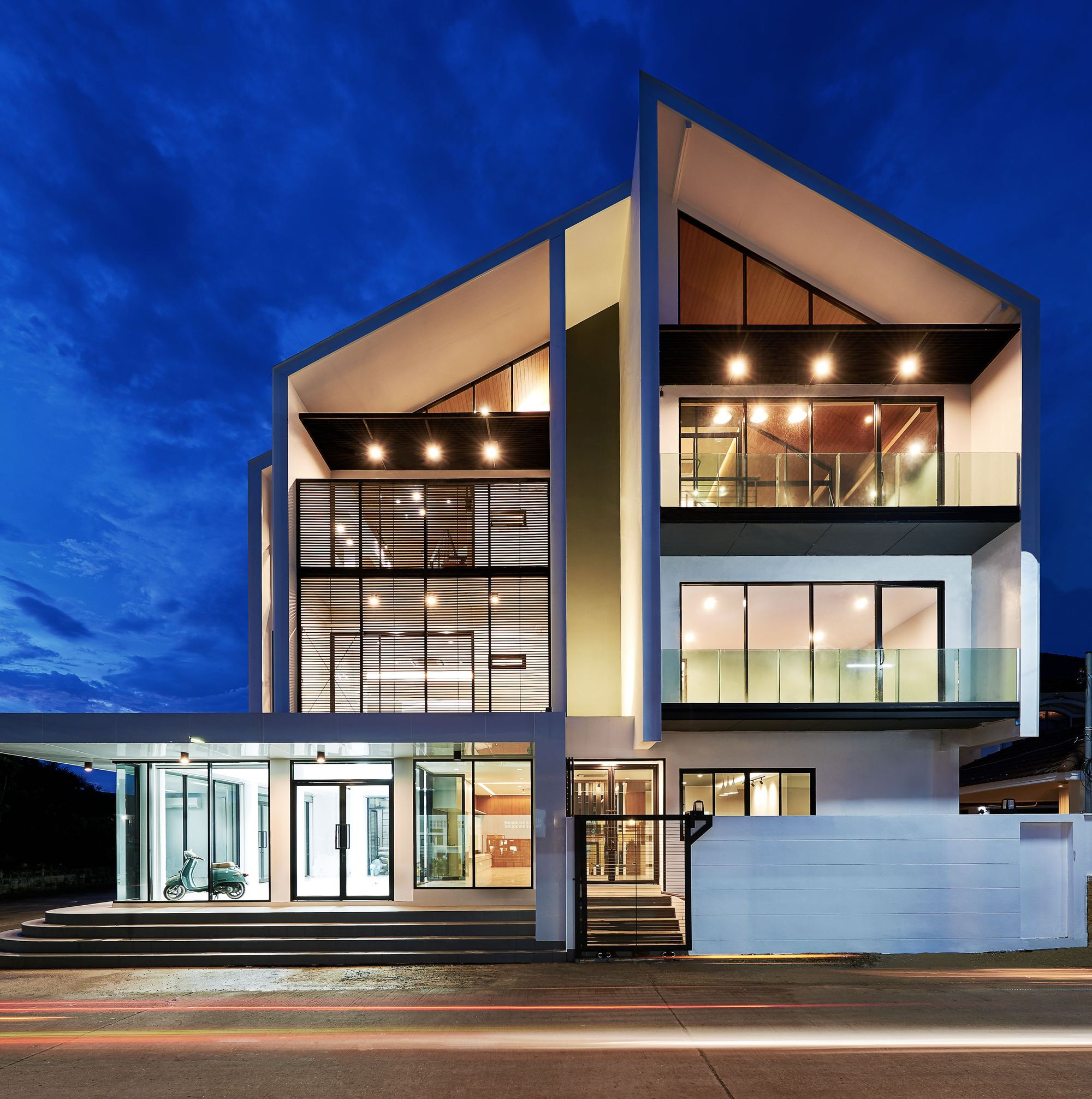 Modern Building in Tropical Climate
