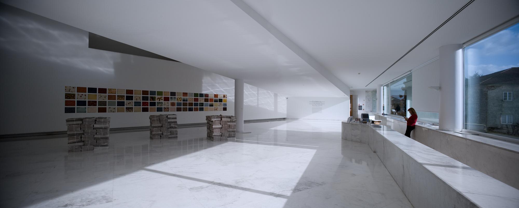 Alvaro Siza Galician Center Contemporary