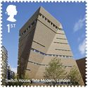 Tate Modern Switch House / Herzog & de Meuron. Image Courtesy of Royal Mail