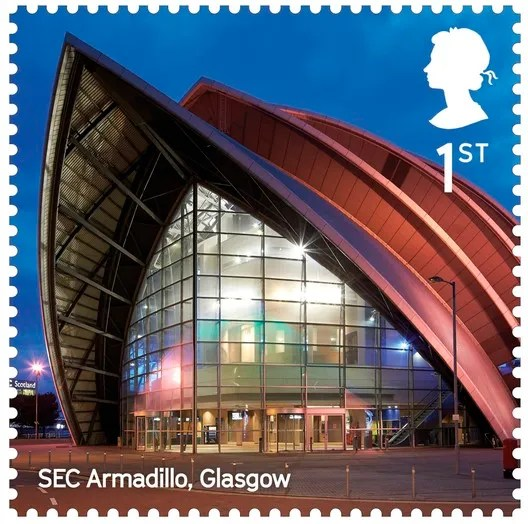SEC Armadillo / Foster + Partners. Image Courtesy of Royal Mail