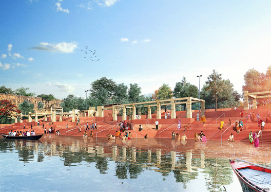 View of the Ghats. Image Courtesy of Morphogenesis
