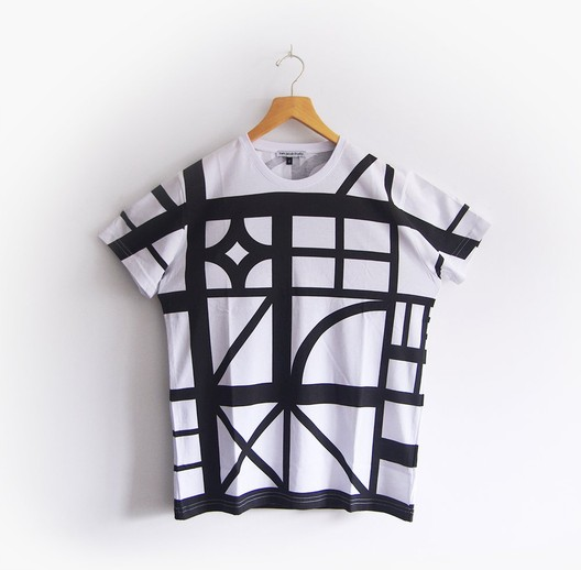 "Sam Jacob Studio's ""Half Timbered"" T-Shirt. Image © Sam Jacob Studio"