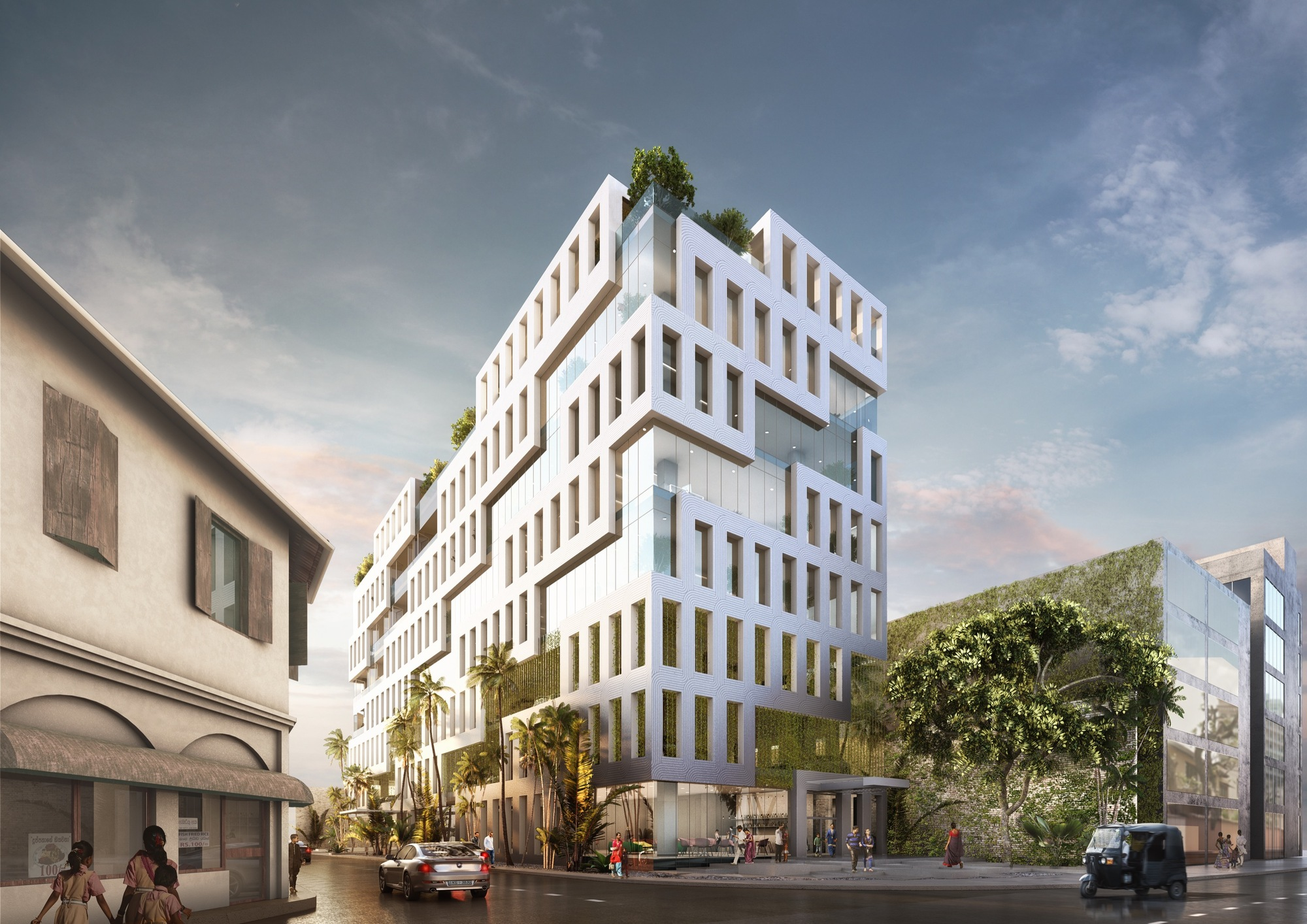 MVRDV Breaks Ground on Office Building Inspired by Sri