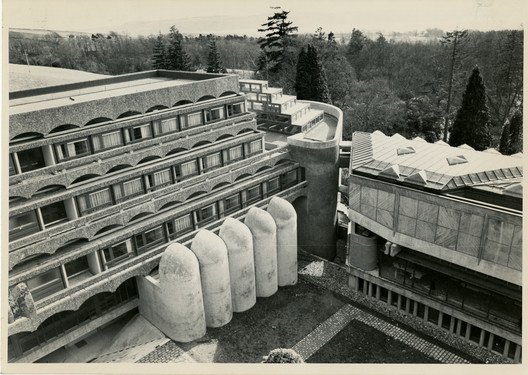 St. Peter's College, Cardcross (exterior), 1958-1966. Image courtesy of The Glasgow School of Art Archives and Collections. Image Courtesy of Getty Foundation