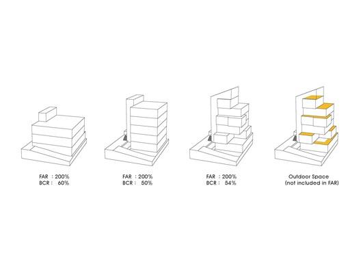 Brick cubes Diagram