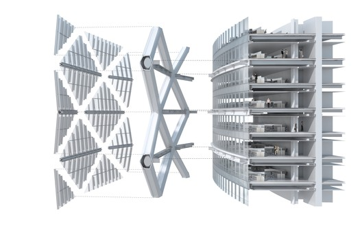 Exploded Wall Compartments