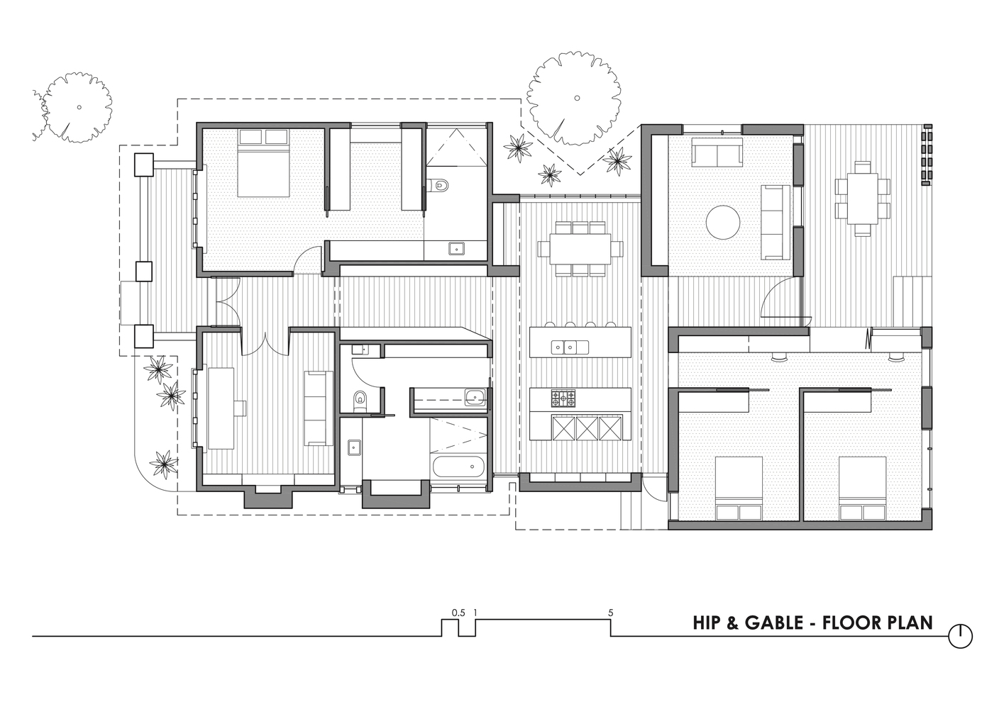 hight resolution of hip gable house architecture architecture
