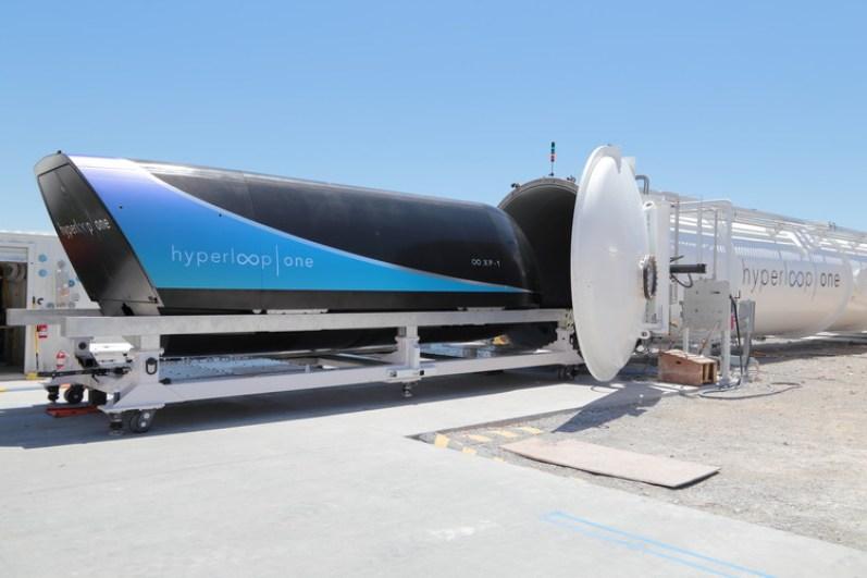 Hyperloop One supera los 300 kilómetros por hora en nuevo ensayo, Cortesía de Hyperloop One