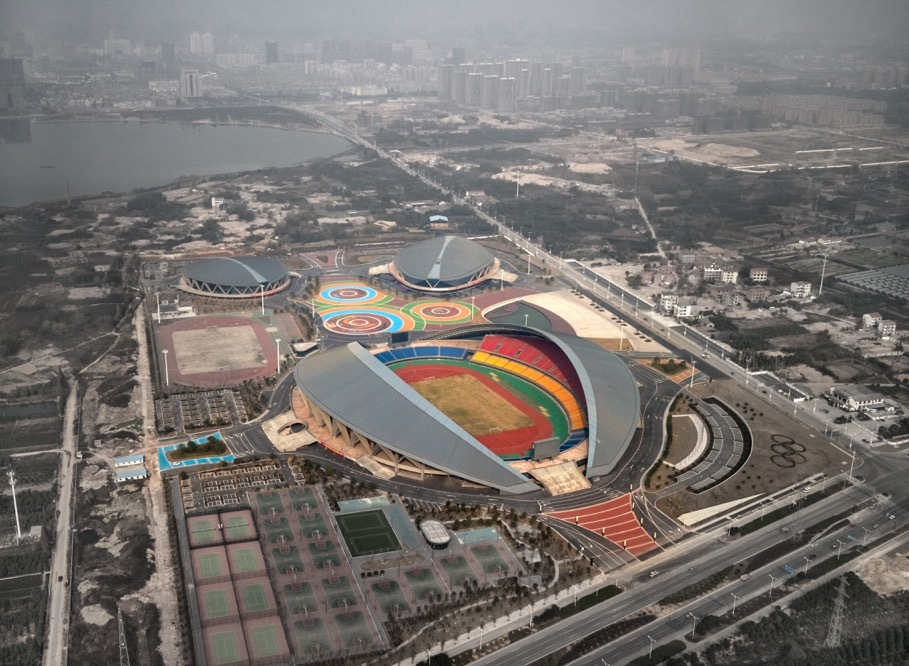 Gallery Of Sports Center Of Jinhua City The