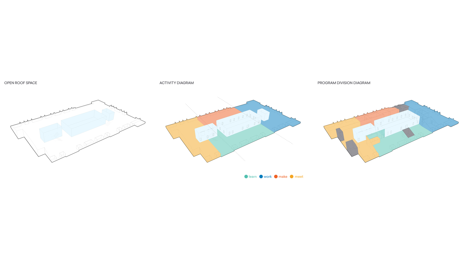 hight resolution of private sezin school open roof space diagram
