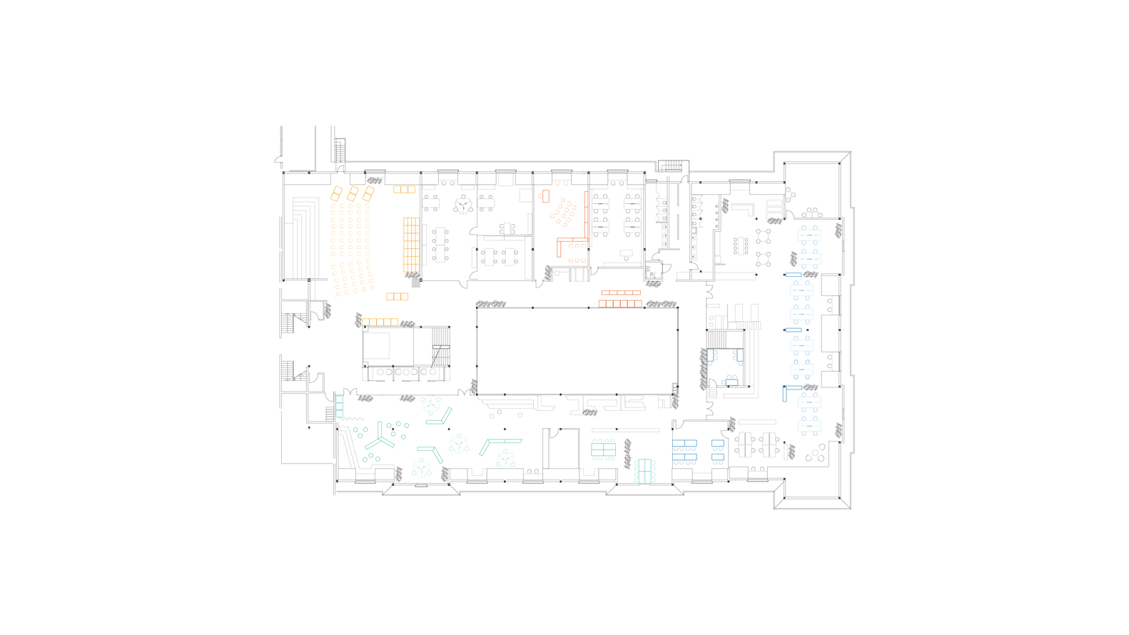 private sezin school open roof space floor plan [ 1582 x 890 Pixel ]