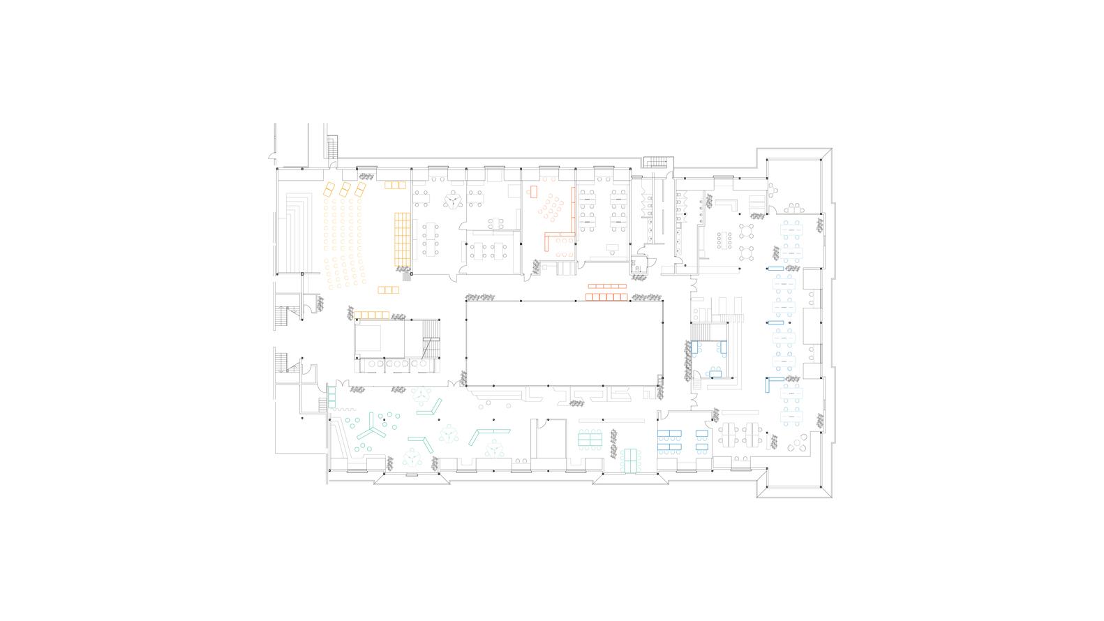 medium resolution of private sezin school open roof space floor plan