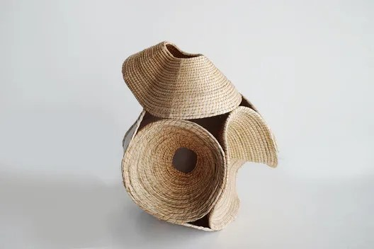 Wood Basket by Terrol Dew Johnson and Aranda\Lasch, 2016. Image Courtesy of Aranda\Lasch
