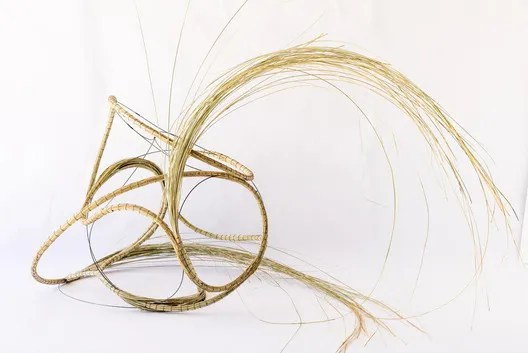Grass Coil by Terrol Dew Johnson and Aranda\Lasch, 2016. Image Courtesy of Aranda\Lasch
