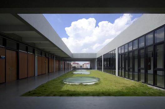 3rd Floor Courtyard. Image © CHEN Zhong