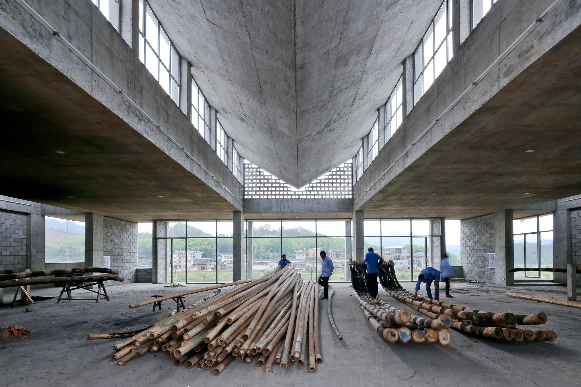 Wuyishan Bamboo Raft Factory  TAO  Trace Architecture
