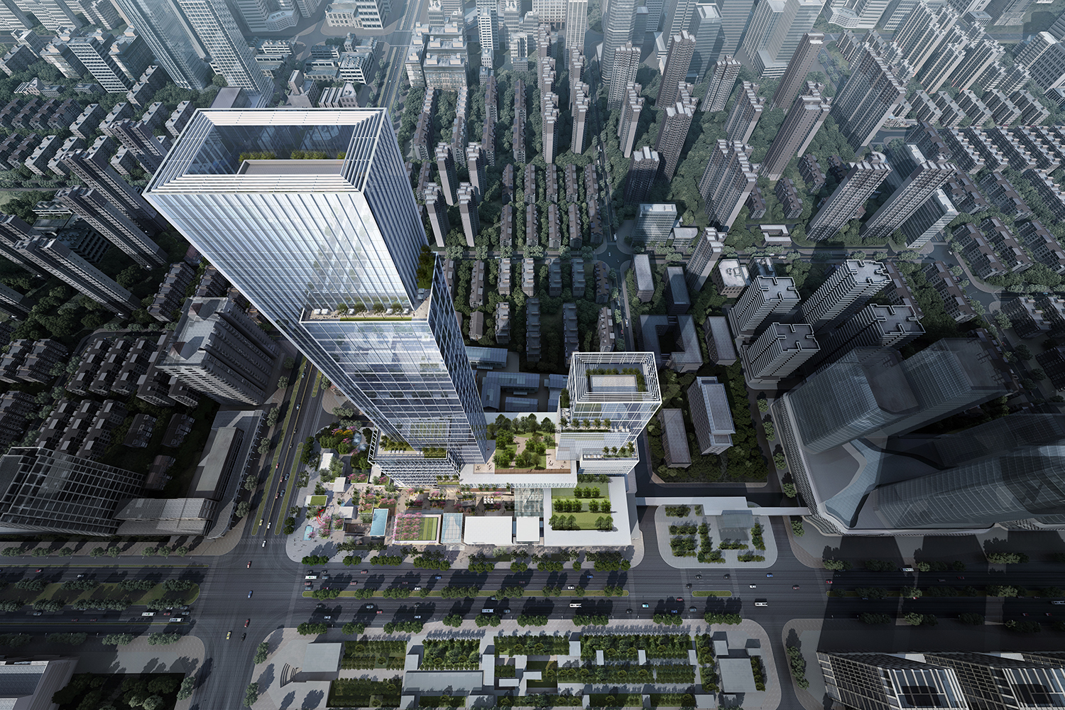Gallery of EID Architecture Redefines High Density Mixed